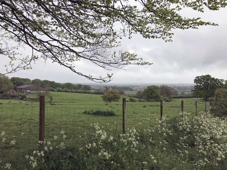View from the drive to Pudlicote Farm, towards Charlbury
